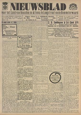 Nieuwsblad het land van Heusden en Altena de Langstraat en de Bommelerwaard 1930-01-10