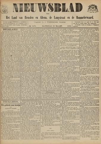 Nieuwsblad het land van Heusden en Altena de Langstraat en de Bommelerwaard 1896-03-21