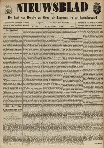 Nieuwsblad het land van Heusden en Altena de Langstraat en de Bommelerwaard 1893-06-07