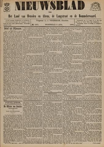 Nieuwsblad het land van Heusden en Altena de Langstraat en de Bommelerwaard 1900-08-08