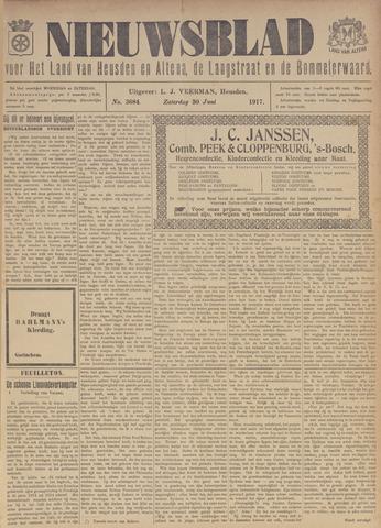 Nieuwsblad het land van Heusden en Altena de Langstraat en de Bommelerwaard 1917-06-30