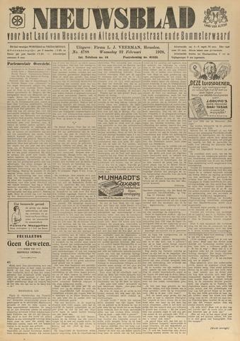Nieuwsblad het land van Heusden en Altena de Langstraat en de Bommelerwaard 1928-02-22