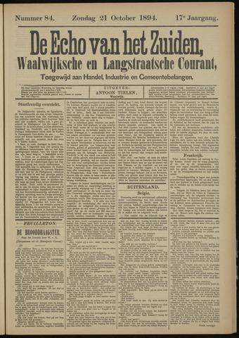 Echo van het Zuiden 1894-10-21