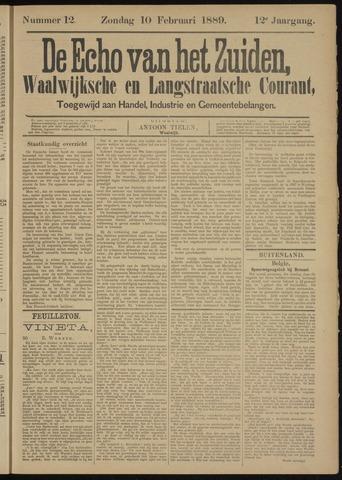 Echo van het Zuiden 1889-02-10
