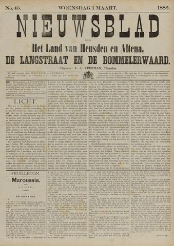 Nieuwsblad het land van Heusden en Altena de Langstraat en de Bommelerwaard 1882-03-01