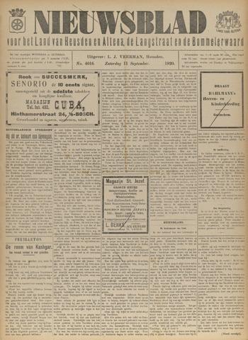 Nieuwsblad het land van Heusden en Altena de Langstraat en de Bommelerwaard 1920-09-11