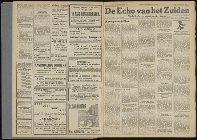 Echo van het Zuiden 1947-09-11