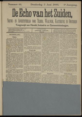Echo van het Zuiden 1886-06-03