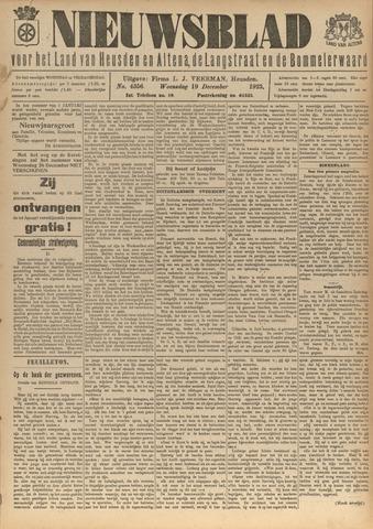 Nieuwsblad het land van Heusden en Altena de Langstraat en de Bommelerwaard 1923-12-19