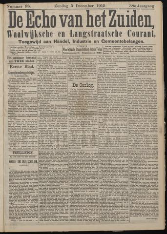 Echo van het Zuiden 1915-12-05