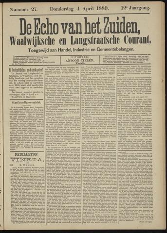 Echo van het Zuiden 1889-04-04