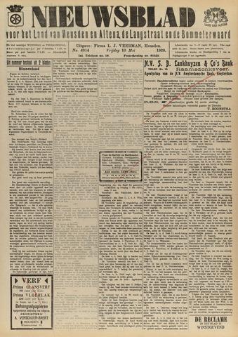 Nieuwsblad het land van Heusden en Altena de Langstraat en de Bommelerwaard 1929-05-10