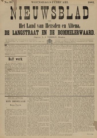 Nieuwsblad het land van Heusden en Altena de Langstraat en de Bommelerwaard 1882-02-08