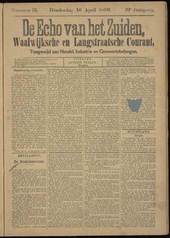 Echo van het Zuiden 1896-04-16