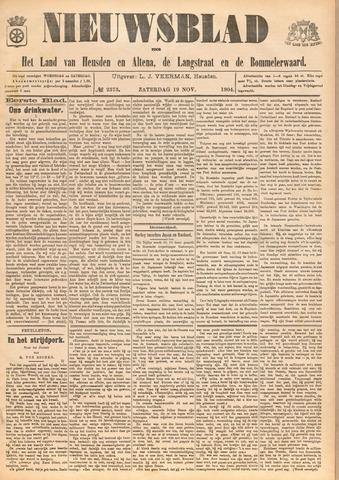 Nieuwsblad het land van Heusden en Altena de Langstraat en de Bommelerwaard 1904-11-19