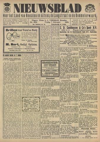 Nieuwsblad het land van Heusden en Altena de Langstraat en de Bommelerwaard 1930-02-07