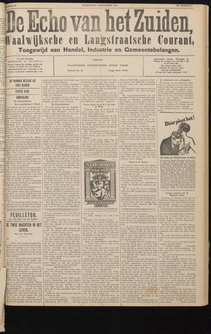 Echo van het Zuiden 1934-11-07