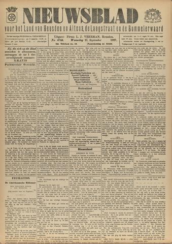 Nieuwsblad het land van Heusden en Altena de Langstraat en de Bommelerwaard 1927-09-21
