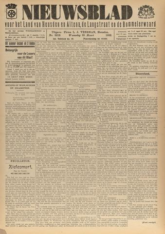 Nieuwsblad het land van Heusden en Altena de Langstraat en de Bommelerwaard 1932-03-30