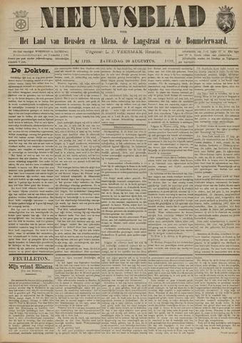 Nieuwsblad het land van Heusden en Altena de Langstraat en de Bommelerwaard 1892-08-20