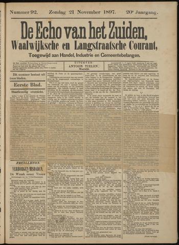 Echo van het Zuiden 1897-11-25