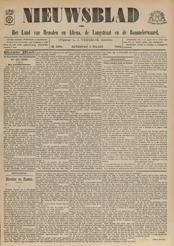 Nieuwsblad het land van Heusden en Altena de Langstraat en de Bommelerwaard 1904-03-05