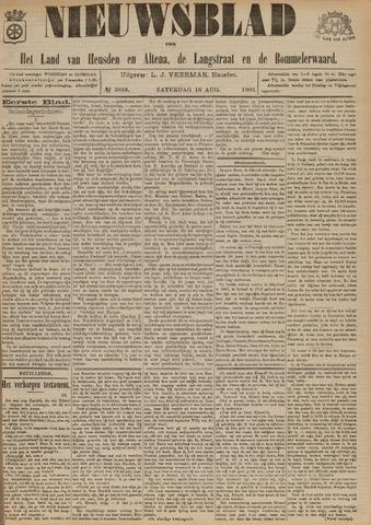 Nieuwsblad het land van Heusden en Altena de Langstraat en de Bommelerwaard 1902-08-16
