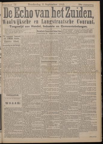 Echo van het Zuiden 1915-09-02