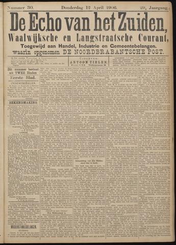 Echo van het Zuiden 1906-04-12