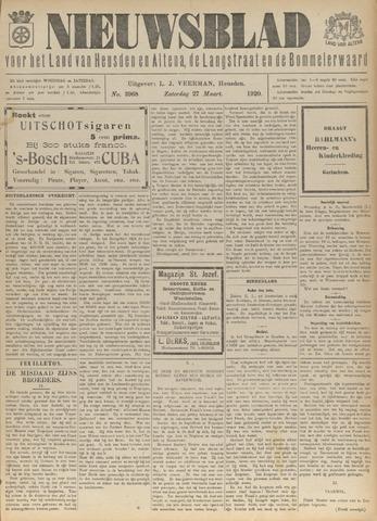 Nieuwsblad het land van Heusden en Altena de Langstraat en de Bommelerwaard 1920-03-27