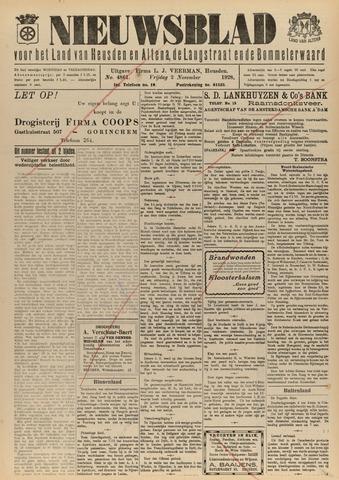 Nieuwsblad het land van Heusden en Altena de Langstraat en de Bommelerwaard 1928-11-02
