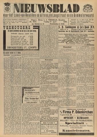 Nieuwsblad het land van Heusden en Altena de Langstraat en de Bommelerwaard 1930-04-11