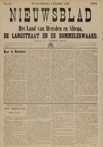 Nieuwsblad het land van Heusden en Altena de Langstraat en de Bommelerwaard 1882-02-01