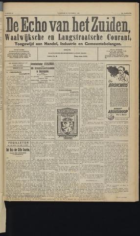 Echo van het Zuiden 1929-11-23