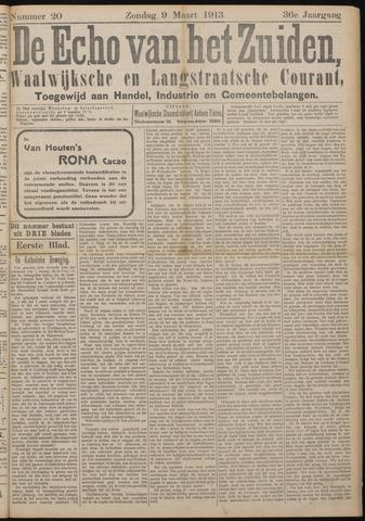 Echo van het Zuiden 1913-03-09