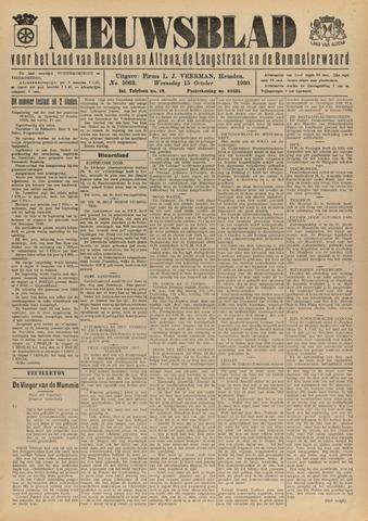 Nieuwsblad het land van Heusden en Altena de Langstraat en de Bommelerwaard 1930-10-15