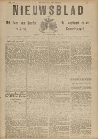 Nieuwsblad het land van Heusden en Altena de Langstraat en de Bommelerwaard 1888-12-05