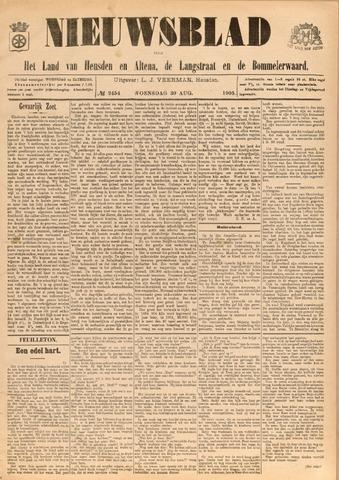 Nieuwsblad het land van Heusden en Altena de Langstraat en de Bommelerwaard 1905-08-30