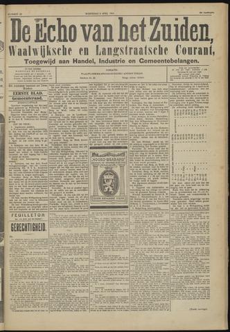 Echo van het Zuiden 1924-04-09