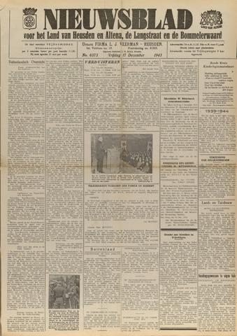 Nieuwsblad het land van Heusden en Altena de Langstraat en de Bommelerwaard 1943-12-17