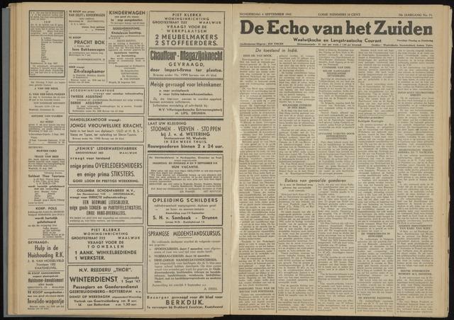 Echo van het Zuiden 1947-09-04