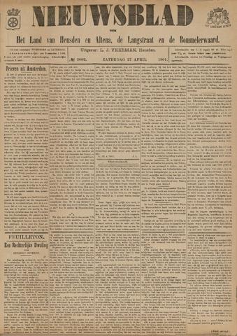 Nieuwsblad het land van Heusden en Altena de Langstraat en de Bommelerwaard 1901-04-27