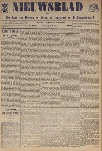Nieuwsblad het land van Heusden en Altena de Langstraat en de Bommelerwaard 1909-10-09