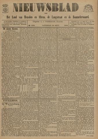Nieuwsblad het land van Heusden en Altena de Langstraat en de Bommelerwaard 1896-09-26
