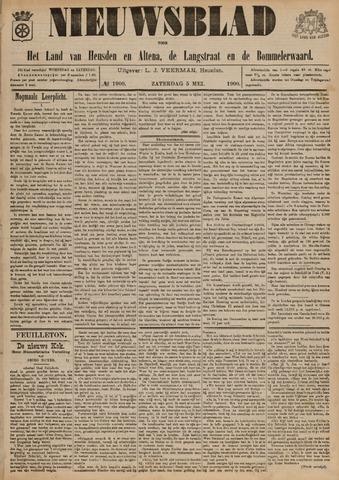 Nieuwsblad het land van Heusden en Altena de Langstraat en de Bommelerwaard 1900-05-05