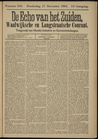Echo van het Zuiden 1891-12-17