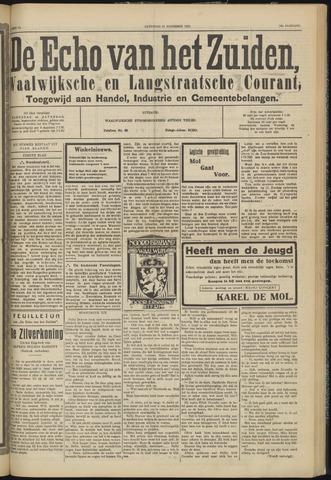 Echo van het Zuiden 1931-11-21