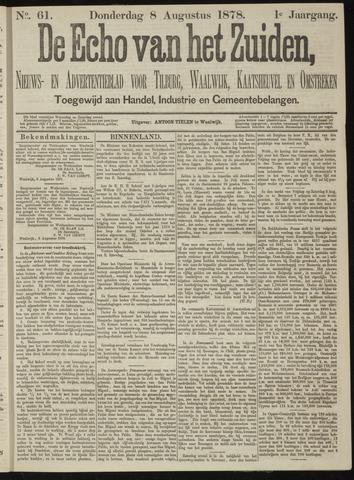 Echo van het Zuiden 1878-08-08