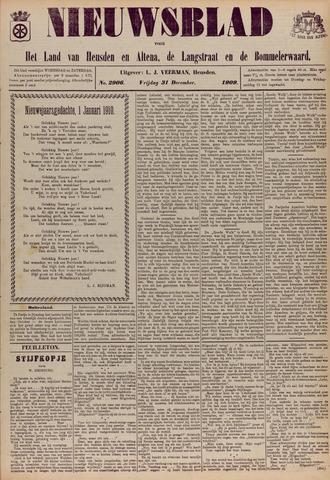 Nieuwsblad het land van Heusden en Altena de Langstraat en de Bommelerwaard 1909-12-31