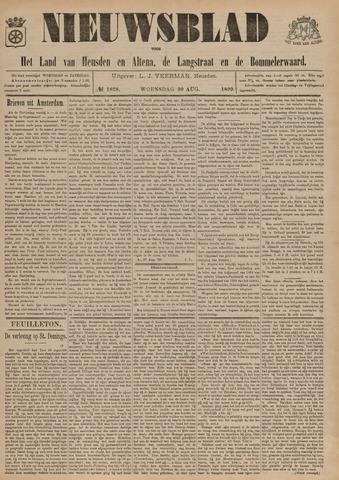 Nieuwsblad het land van Heusden en Altena de Langstraat en de Bommelerwaard 1899-08-30
